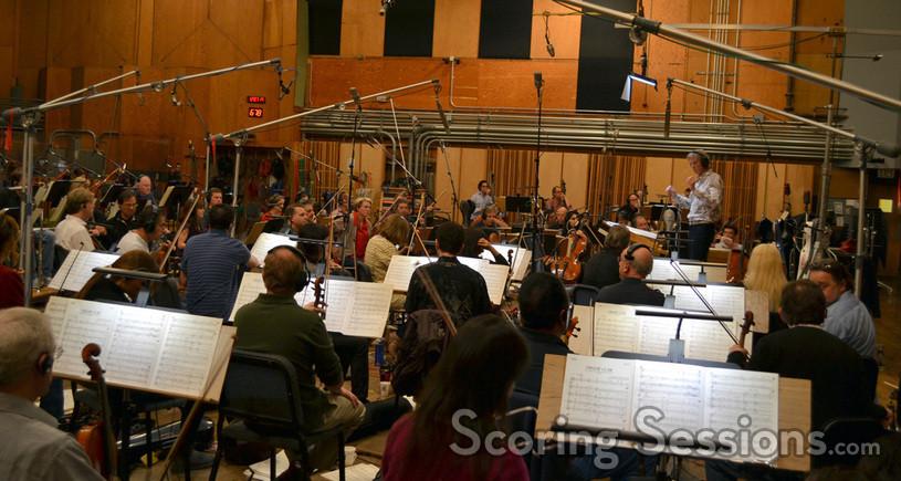 Nick Glennie-Smith conducts <i>The Smurfs</i>
