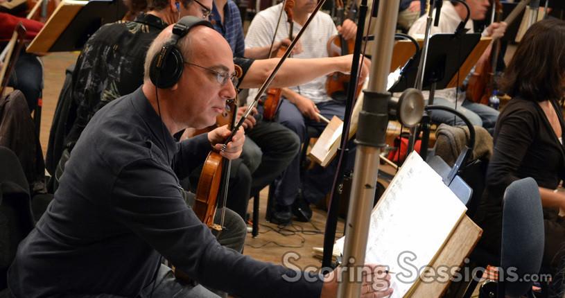 Violinist Rafael Rishik
