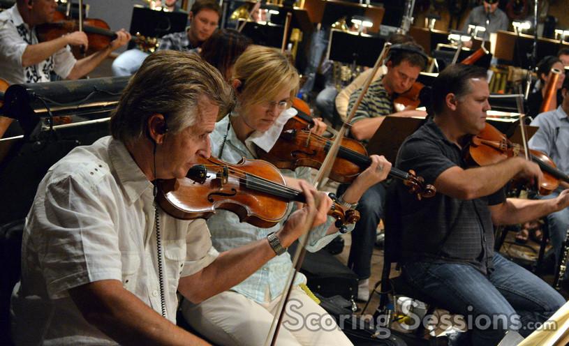 Bruce Dukov and Katia Popov on vioins