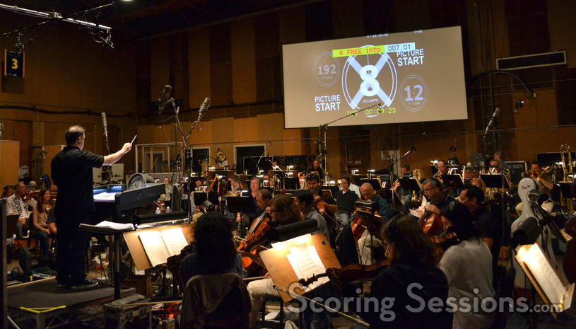 The Hollywood Studio Symphony performs on <i>Jack Reacher</i>