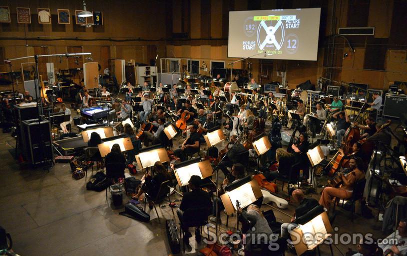 The Hollywood Studio Symphony performs on <i>Jack Reacher</i>