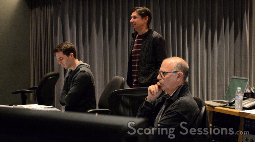 Orchestrators Zack Ryan and Tim Davies and scoring mixer Bruce Botnick