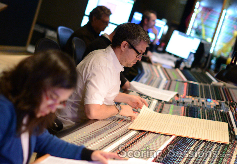 Orchestrator Germaine Franco and composer John Powell