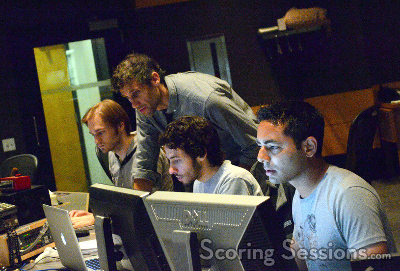 Additional music composer Duncan Blickenstaff, composer Rob Simonsen, composer assistant Kyle Oakly, and ProTools recordist Abhay Mansumare