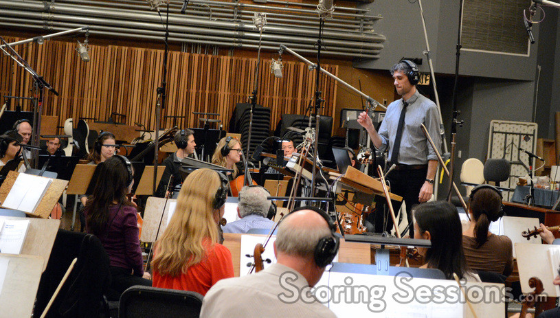 Rob Simonsen conducts the Hollywood Studio Symphony