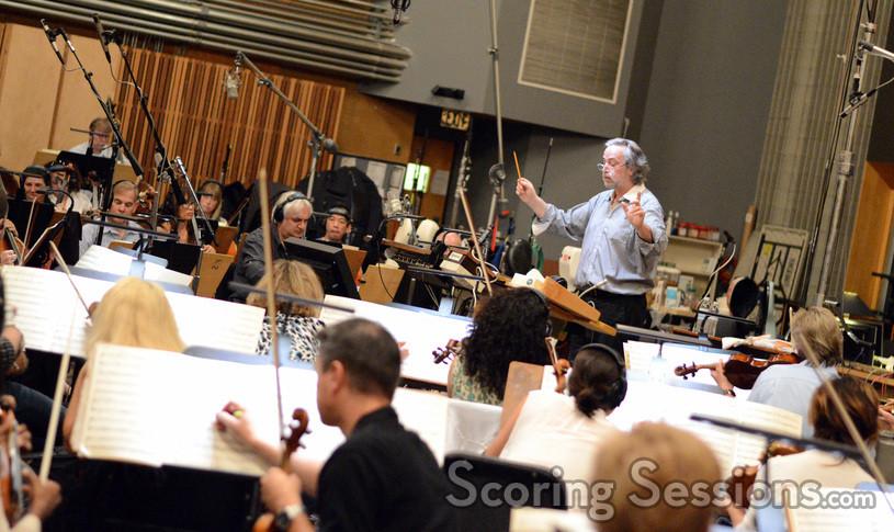 Composer Nicholas Dodd and the Hollywood Studio Symphony