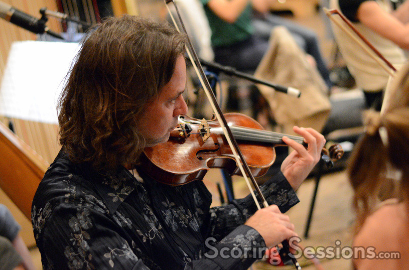 Violinist Charlie Bisharat