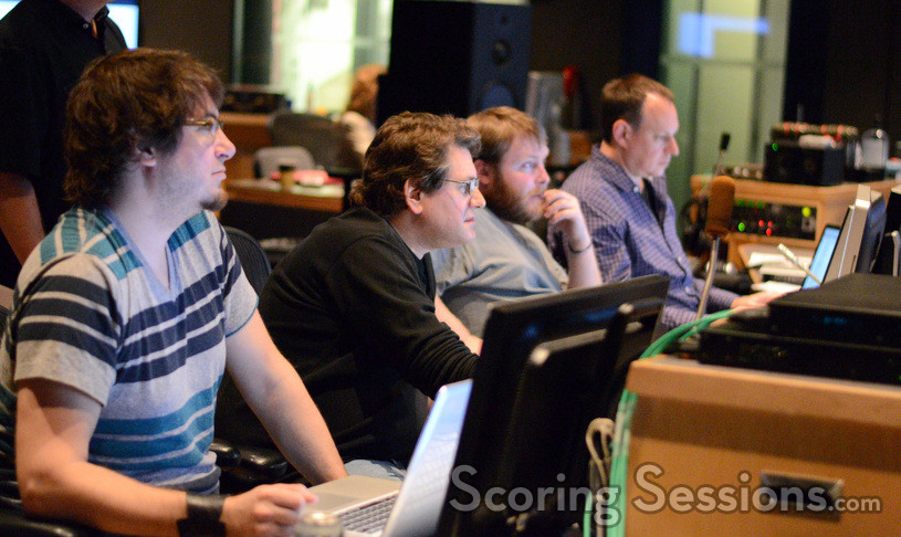 Technical assistant to the composer Neil Parfitt, music editor Will Kaplan, ___, and ProTools recordist Eric Swanson