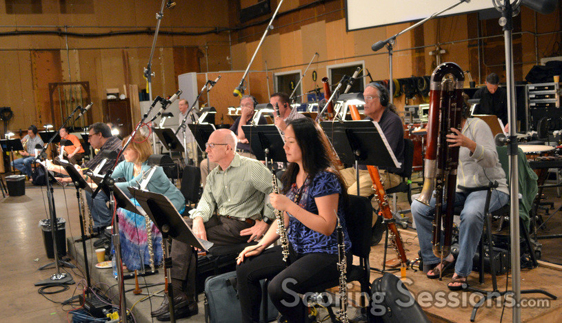 The woodwind section on <i>White House Down</i>