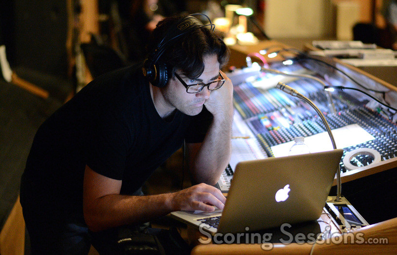 Stage technician Greg Dennen