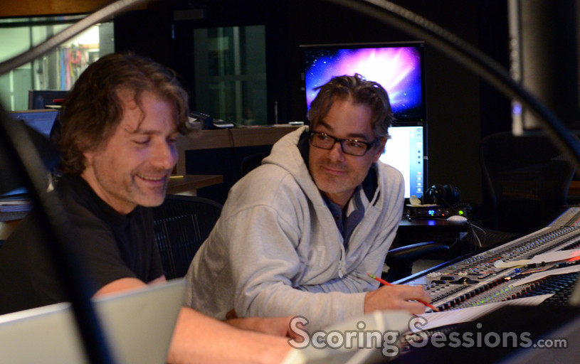 Additional music composer Buck Sanders and composer Marco Beltrami