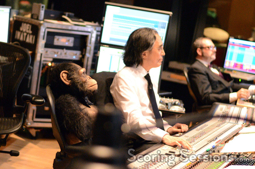 Caesar, scoring mixer Joel Iwataki and stage recordist Tim Lauber