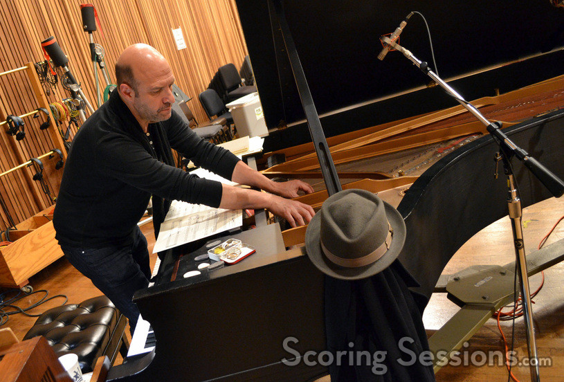 Composer John Paesano's score for <i>The Maze Runner</i> called for pianist Randy Kerber to pluck the piano strings