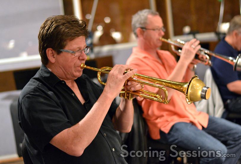 Trumpets Wayne Bergeron and Jon Lewis
