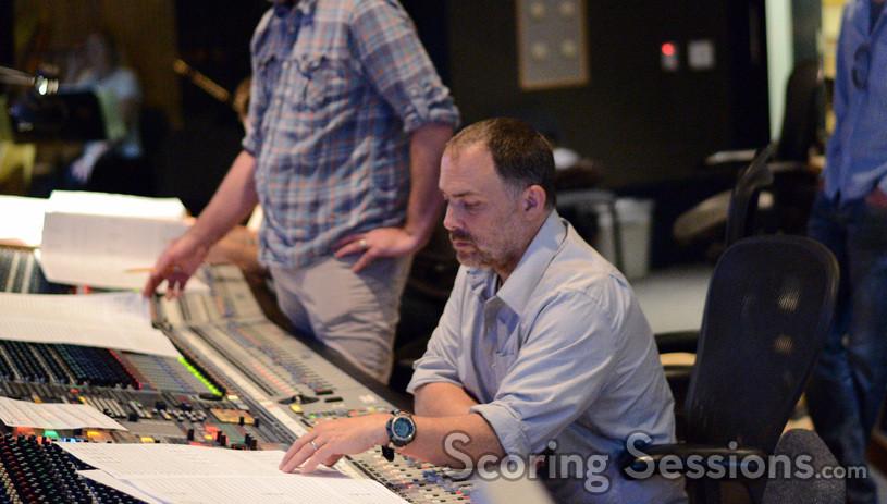 Additional score recorder Chris Fogel