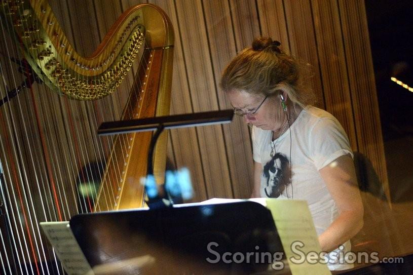 Harpist Katie Kirkpatrick
