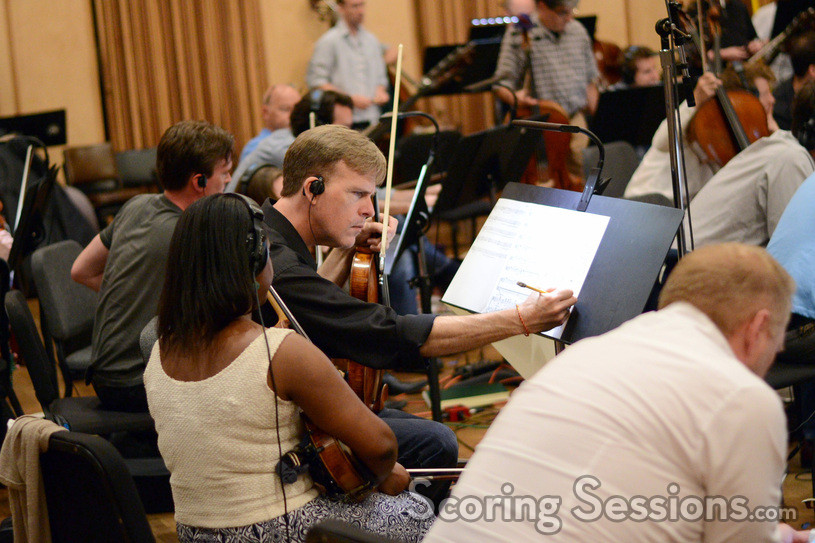 The orchestra makes an edit