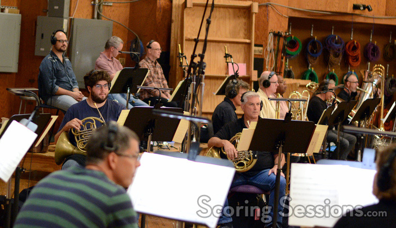 The brass section on <i>Maze Runner: The Scorch Trials</i>