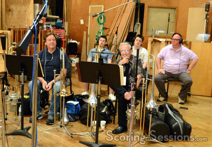 Trombonists Steve Holtman and Bill Booth
