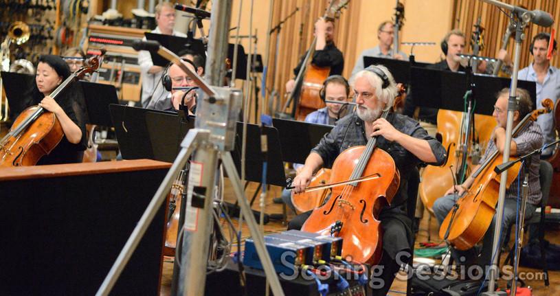 Principal cellist Andrew Shulman rehearses a solo