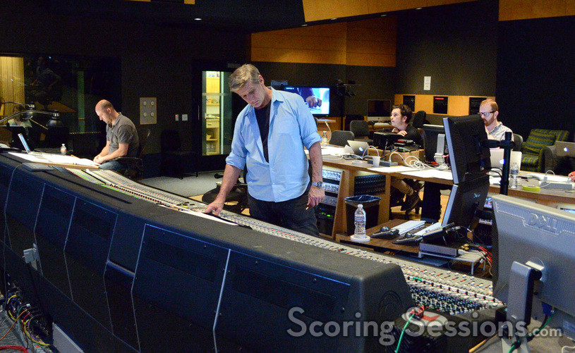 Inside the booth during the <i>11.22.63</i> scoring session at Fox