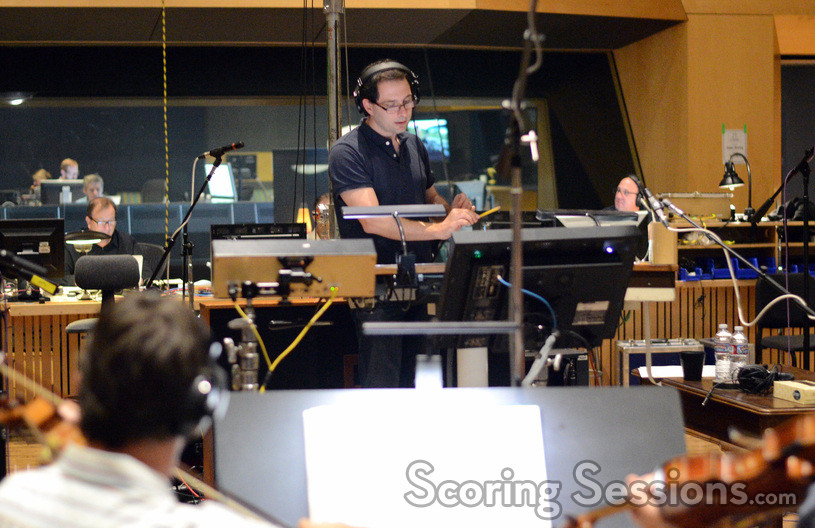 Composer Alex Heffes conducts his score to <i>11.22.63</i>