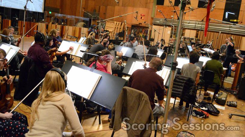 The strings perform on <em>Bliss!</em>