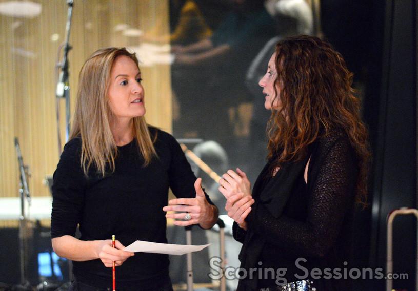 Conductor Eímear Noone talks with composer Hélène Muddiman