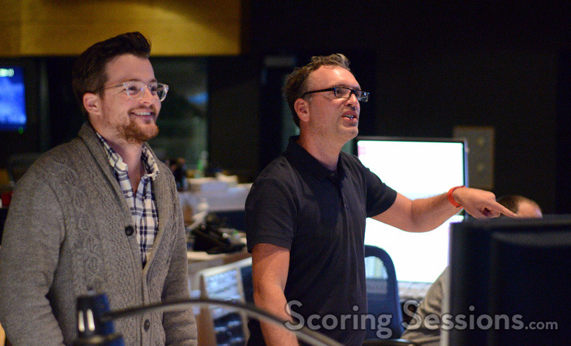 Additional music composer Alex Belcher and composer Henry Jackman