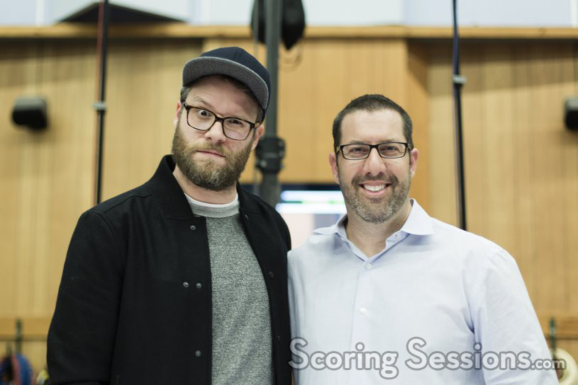 Producer/writer Seth Rogen and composer Christopher Lennertz