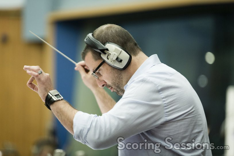 Christopher Lennertz conducting
