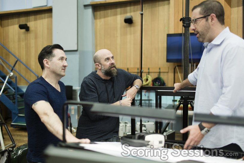 Directors Greg Tiernan and Conrad Vernon chat with composer Christopher Lennertz