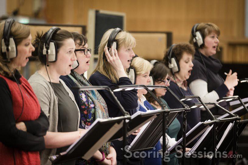 The choir performs on <em>Sausage Party</em>