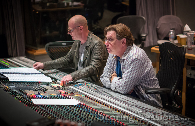 Composer Tom Holkenborg and scoring mixer Alan Meyerson