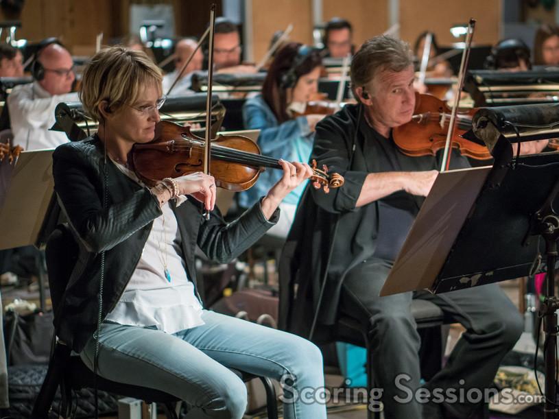 Violinists Katia Popov and Bruce Dukov