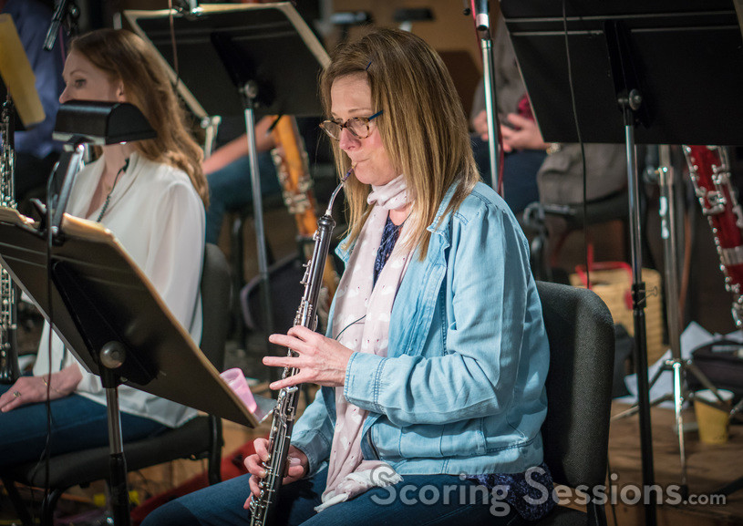 Leslie Reed performs on English horn