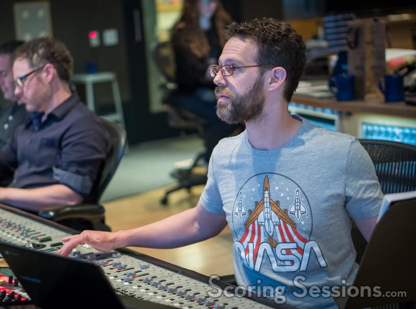 Scoring mixer Steve Kaplan
