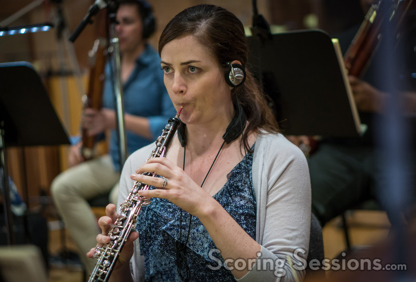 Jennifer Johnson on oboe