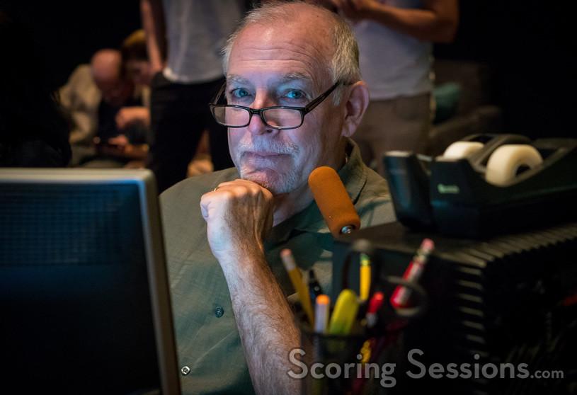 ProTools recordist Steve Hallmark