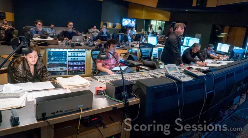 Inside the booth at Fox as Benjamin Wallfisch scores <em>The Darkest Minds</em>