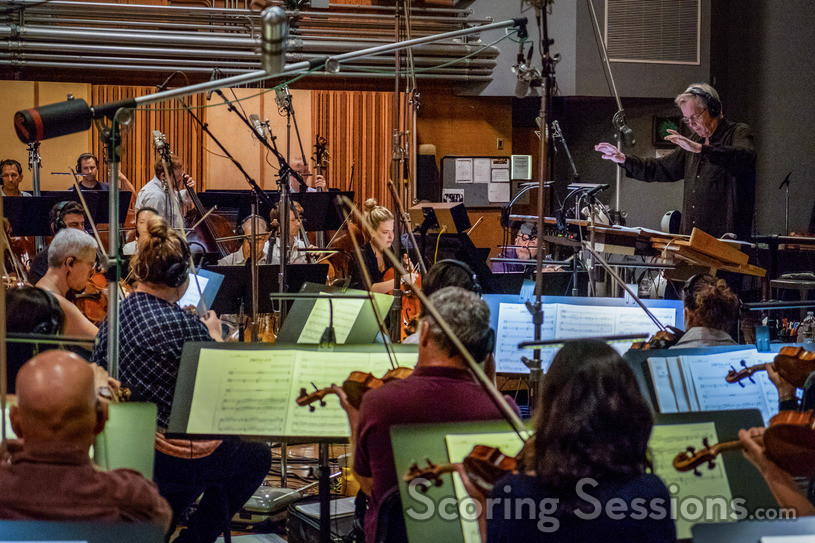 The Hollywood Studio Symphony performs on <em>Ralph Breaks the Internet</em>