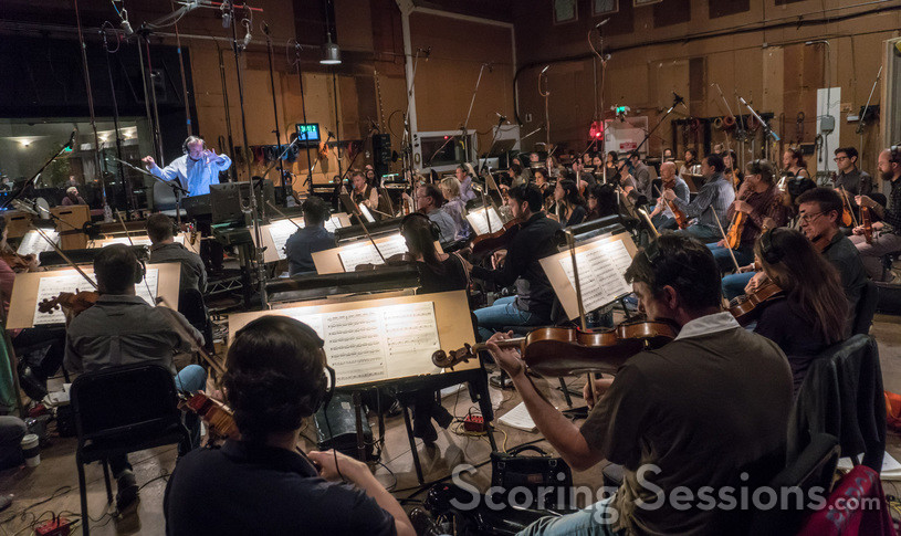 The Hollywood Studio Symphony performs with conductor/orchestrator Nicholas Dodd