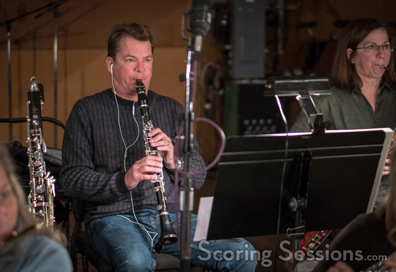 Clarinetist Stuart Clark