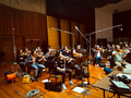 The string session for <em>Days of Our Lives</em> at Warner Bros.