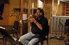 Chuck Findley on trumpet