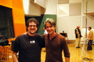 Michael Giacchino and Dermot Mulroney