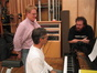 Conductor Pete Anthony, composer Marco Beltrami and director John Moore