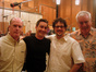 Fox Music President Robert Kraft, director Thomas Bezucha, Michael Giacchino and Tim Simonec
