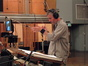 Blake Neely conducts the brass session for <i>The Island</i>