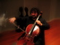 Armen Ksajikian works the cello (yes, he was in <i>True Lies</i>)